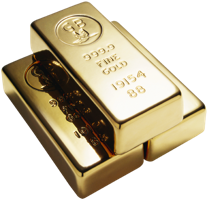 Network marketing extra income - gold bars